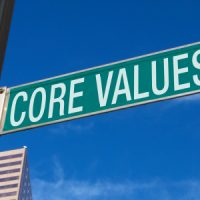 Defining your values