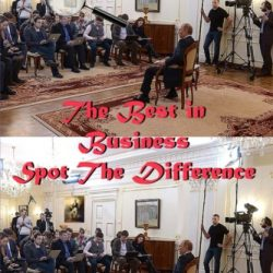 The Best in Business Spot The Difference. Colour. Contributors Edition